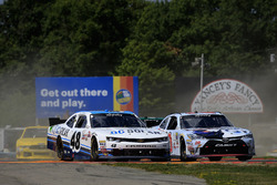 Brennan Poole, Chip Ganassi Racing Chevrolet, Erik Jones, Joe Gibbs Racing Toyota