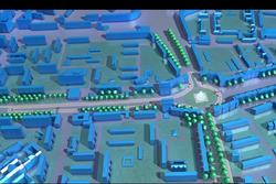 ePrix di Berlino, il tracciato 3D