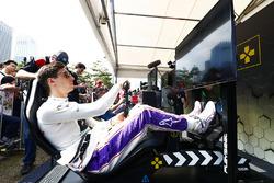 Alex Lynn, DS Virgin Racing en la eRace