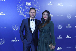 Gaurav Gill with his wife