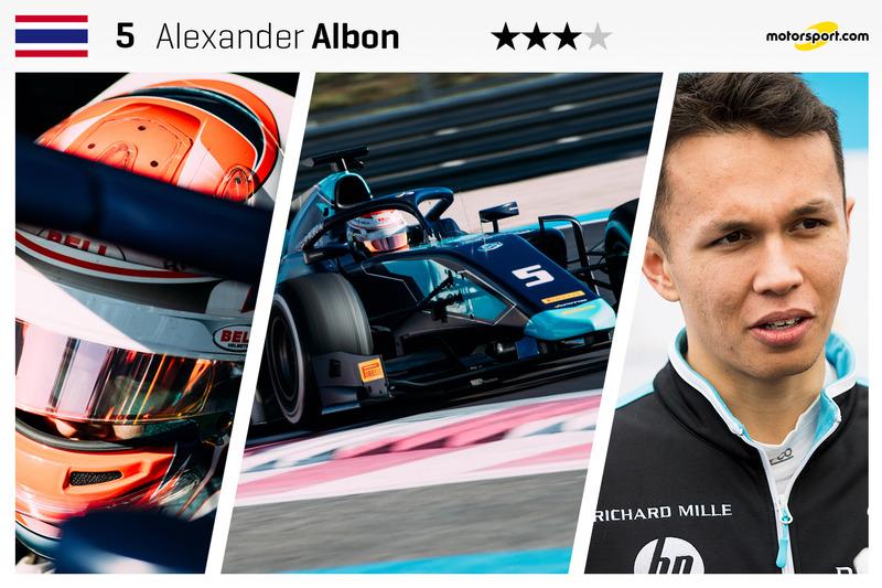 Alexander Albon - 22 ans