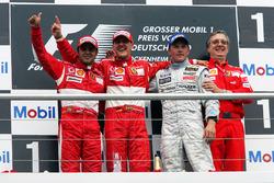 Podium: 1. Michael Schumacher, Ferrari; 2. Felipe Massa, Ferrari; 3. Kimi Räikkönen, McLaren