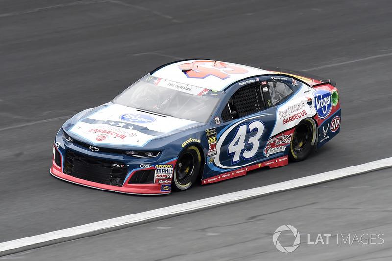 24. Darrell Wallace Jr., Richard Petty Motorsports, Chevrolet Camaro Kroger / Coca-Cola