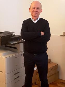 Stephan Oehen, Direttore Comunicazione della società Swiss ePrix Operations
