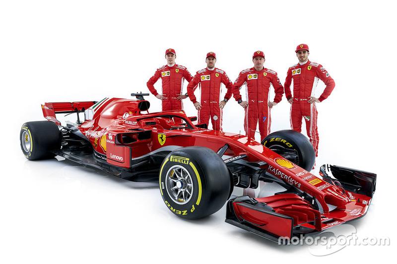 Год спустя Квят уже не имеет отношения к Red Bull – он потерял место в Toro Rosso, но в межсезонье стал пилотом по развитию Ferrari