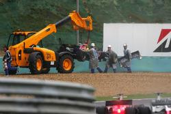 Christian Klien, Red Bull Racing RB2 retirado de la carrera