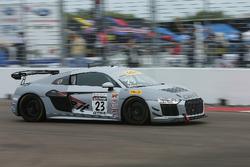 #23 Caseit Racing by Flying Lizard Audi R8 LMS GT4: Adam Merzon