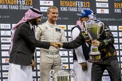 Petter Solberg y Abdulaziz bin Turki Al Saud