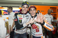 Worldchampion Marc Marquez, Repsol Honda Team with Alex Marquez, Marc VDS
