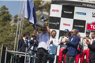 Podium: Tommi Makinen, Toyota Gazoo Racing
