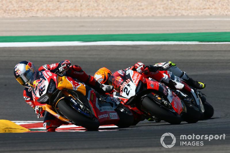 Jake Gagne, Honda WSBK Team, Michael Ruben Rinaldi, Aruba.it Racing-Ducati SBK Team