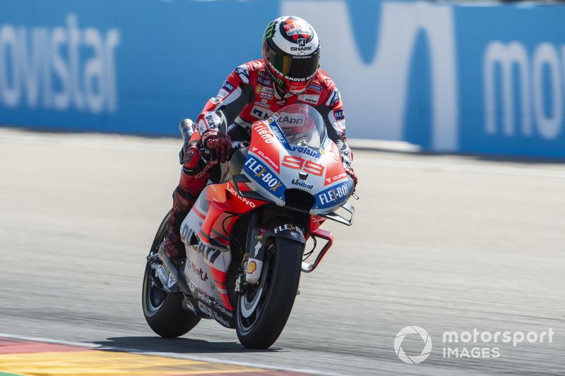 Ausfall: Jorge Lorenzo, Ducati Team