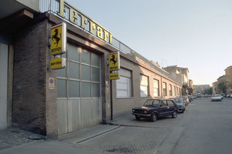 Ferrari-Werk in Maranello