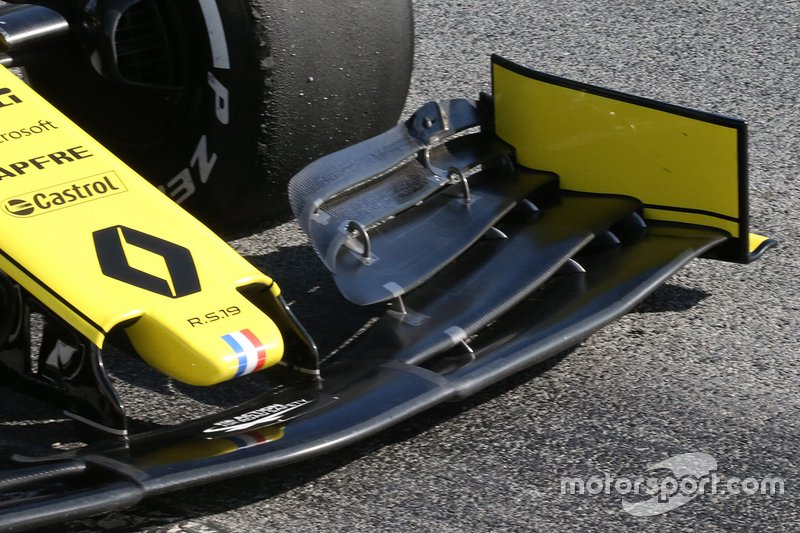 Переднее антикрыло Renault Sport F1 Team R.S.19