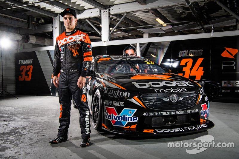 James Golding, Garry Rogers Motorsport unveil