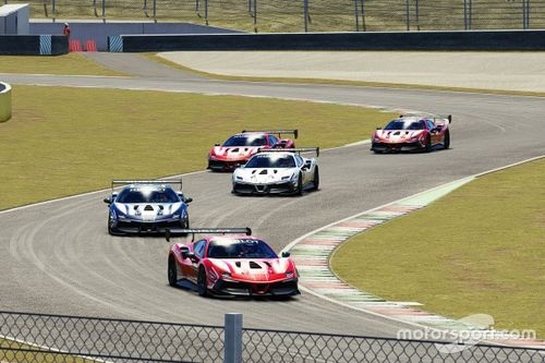 Annonce des Ferrari eSports Series
