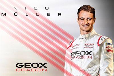 Nico Müller Dragon Racing prestatie