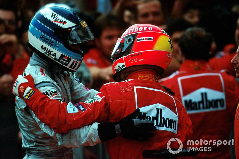 En plus de 20 ans en Formule 1, pour quel adversaire avez-vous eu le plus de respect ?