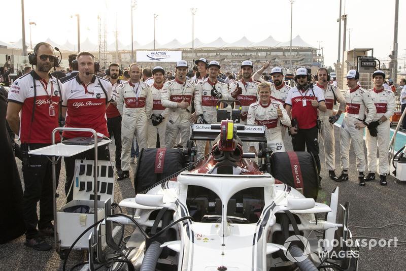 Marcus Ericsson, Sauber and mechanics on the grid