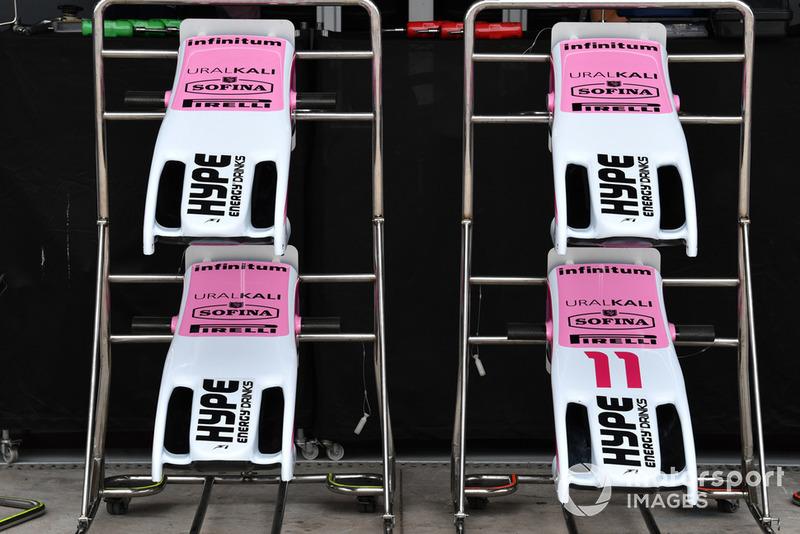 Des nez de Racing Point Force India VJM11