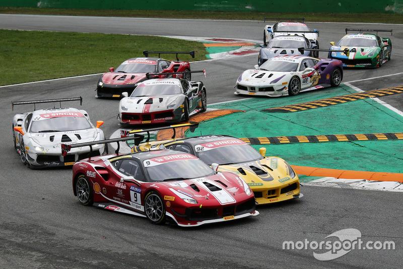 #92 Ferrari 488, Baron Motorsport: Sam Smeeth
