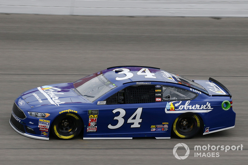 24. Michael McDowell, Front Row Motorsports, Ford Fusion Coburn Supply Company