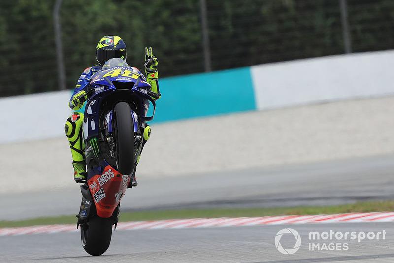 MotoGP Malaysia: Valentino Rossi, Yamaha Factory Racing