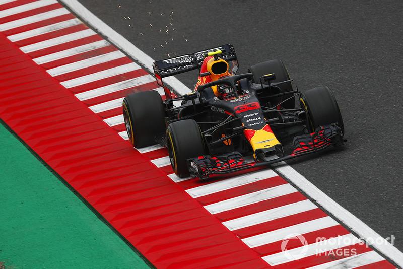 3 місце — Макс Ферстаппен, Red Bull. Умовний бал — 30,56