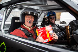 Top Gear-opnames in Londen met Matt LeBlanc en Ken Block