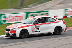 #19 Stephen Cameron Racing BMW M235iR: Aristotle Balogh