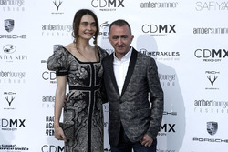 Paddy Lowe, Williams Shareholder and Technical Director and wife Anna Danshina