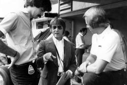 Bernie Ecclestone with Gordon Murray