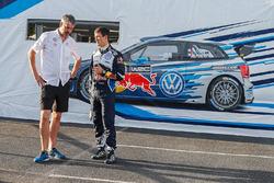 Jan-Gerard de Jongh, Sébastien Ogier, Volkswagen Motorsport