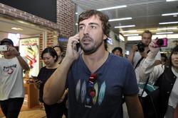 Фернандо Алонсо в Японії