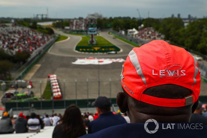 Fan von Lewis Hamilton