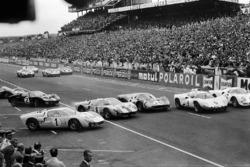 Start zu den 24h Le Mans 1968