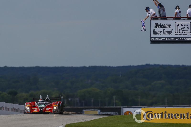#38 Performance Tech Motorsports ORECA FLM09: Джеймс Френч, Пато О'Уорд перемагають у своєму класі