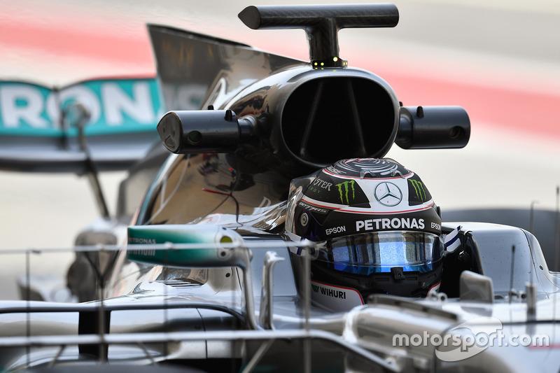Дополнительные камеры на Mercedes F1 W08