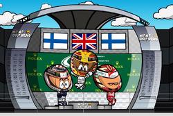 El GP de Gran Bretaña 2017 de F1 según Los MiniDrivers
