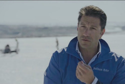 Marco Parroni in Grönland