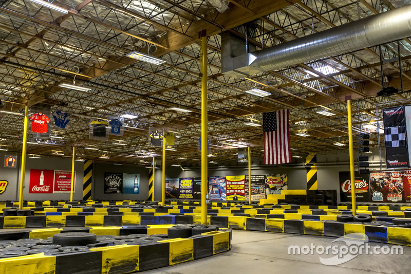 Ambiente de pista de karting