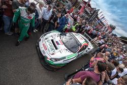 #55 Kaspersky Motorsport Spirit Of Race Ferrari 488 GT3: Джанкарло Фізікелла, Марко Чочі, Джеймс Каладо