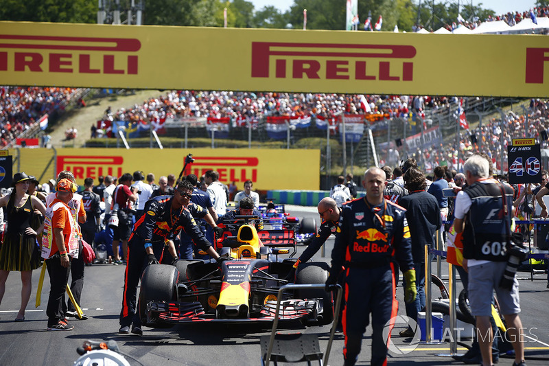 Coche de Daniel Ricciardo, Red Bull Racing RB13