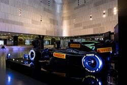Pirelli F1 car
