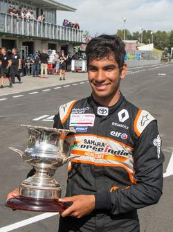Race winner Jehan Daruvala