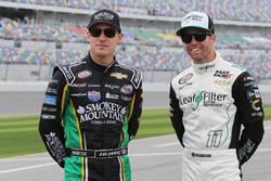 Daniel Hemric, Chevrolet, talks with Blake Koch, Chevrolet