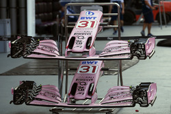 Sahara Force India VJM10 nose and front wings