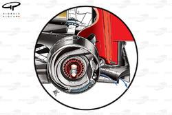 Lotus E20 diffuser outwash detail