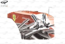 Ferrari F14 T pull rod front suspension