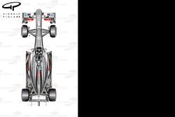 Sauber C32 top view